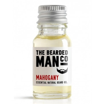 The Bearded Man Company Beard Oil Mahogany 10 ml
