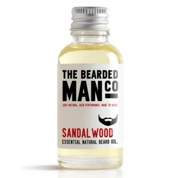 The Bearded Man Company Beard Oil Sandalwood 30 ml