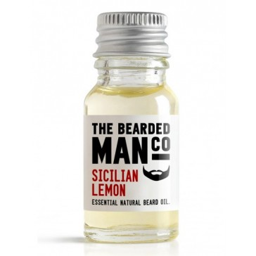 The Bearded Man Company Beard Oil Sicilian Lemon 10 ml