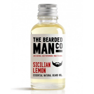 The Bearded Man Company Beard Oil Sicilian Lemon 30 ml