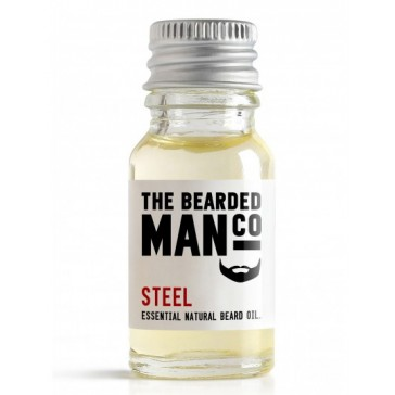 The Bearded Man Company Beard Oil Steel 10 ml