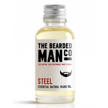 The Bearded Man Company Beard Oil Steel 30 ml