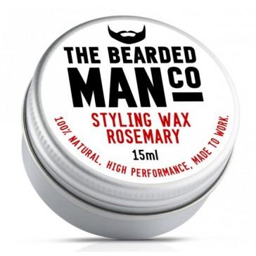 The Bearded Man Company Moustache Wax Rosemary