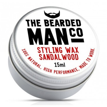 The Bearded Man Company Moustache Wax Sandalwood