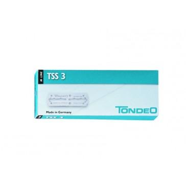 Tondeo TSS 3 Razor Blades