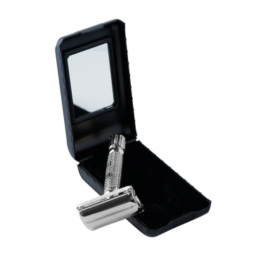 Beard Monkey Twist Razor Silver