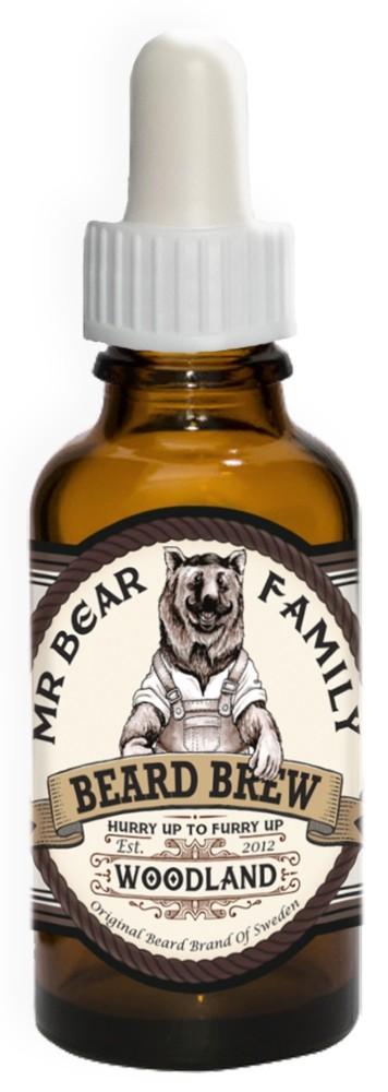 Mr Bear Brew skäggolja Woodland