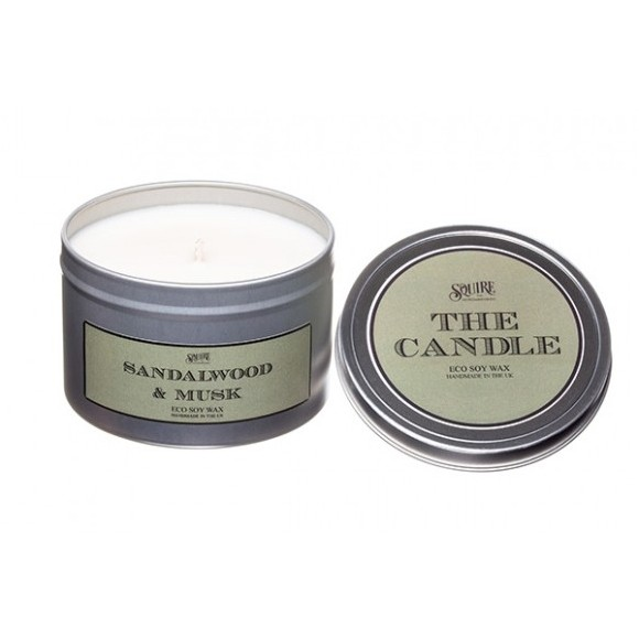 Squire The Candle Sandalwood & Musk