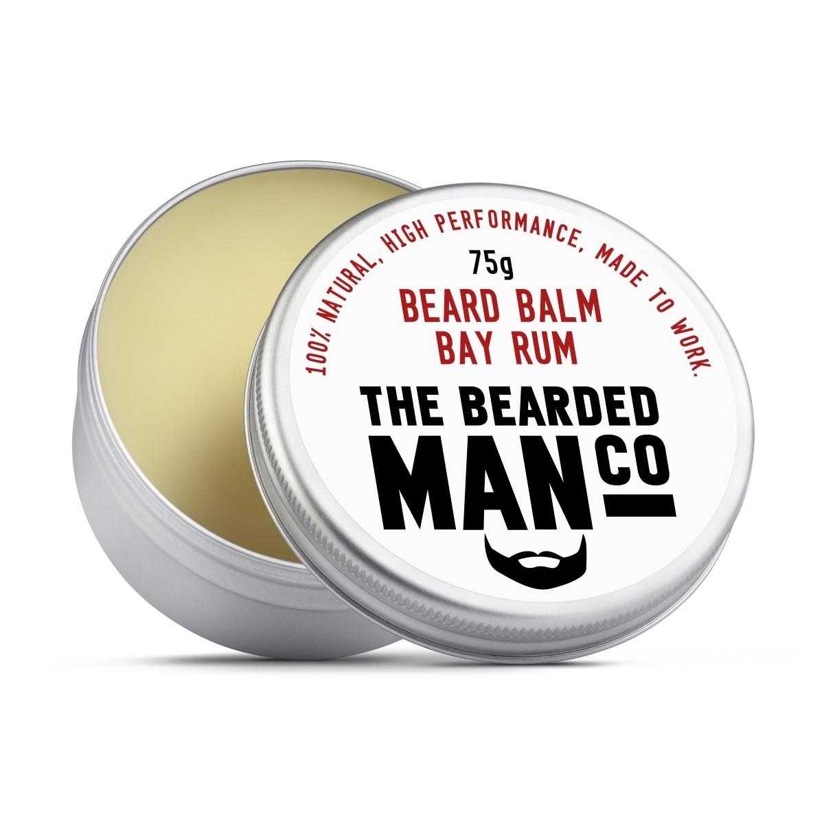 The Bearded Man Company Beard Balm Bay Rum
