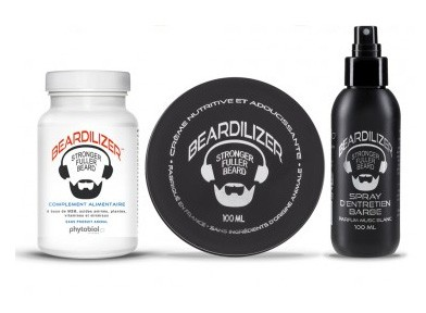 Beardilizer Beard Growth Pack
