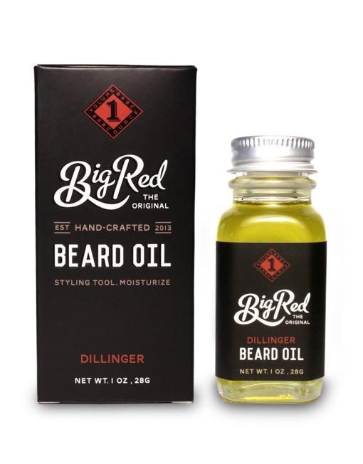 Big Red Beard Oil - Dillinger 30 ml