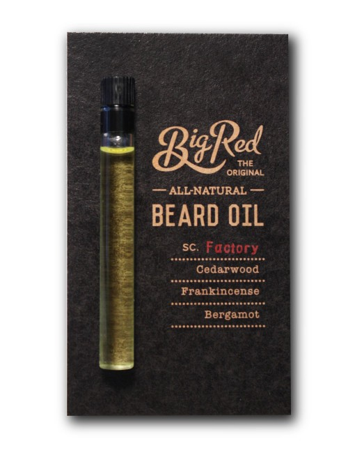 Big Red Beard Oil Sampler - Factory