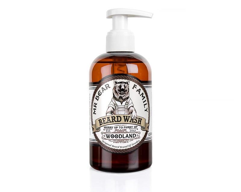 Mr Bear Beard Wash Woodland