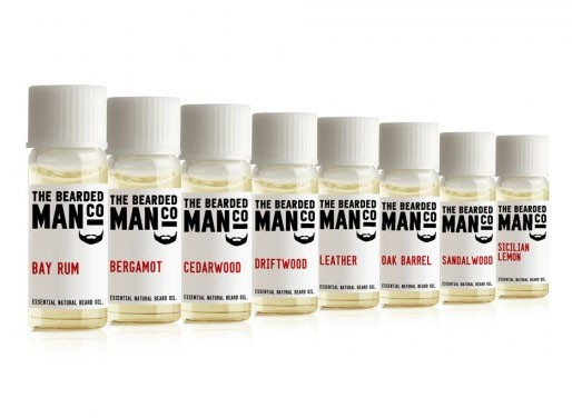 The Bearded Man Company Beard Oil - sampler