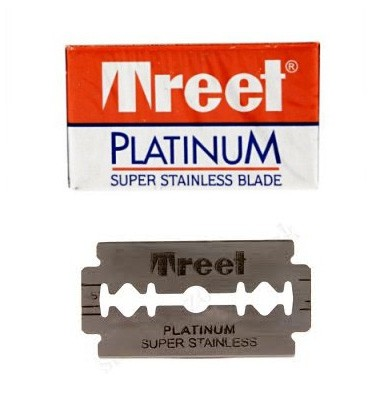 Treet Platinum Super Platinum Double Edge Razor Blades