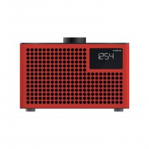 Geneva Acustica Lounge Radio Red