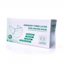 Disposable Face Mask 50-pack