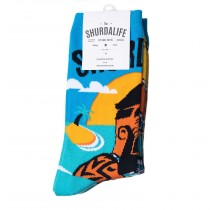 Shurdalife By Daki Savic Beachlife Socks