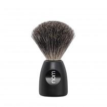 Mühle Nom Lasse Shaving Brush Pure Badger, black