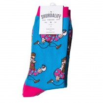 Shurdalife By Daki Savic Espresso Socks
