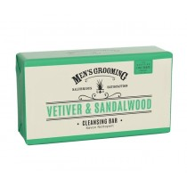 The Scottish Fine Soaps Vetiver & Sandalwood Cleansing Bar