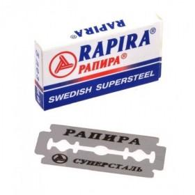 Rapira Swedish Supersteel Double Edge Razor Blades 5-p
