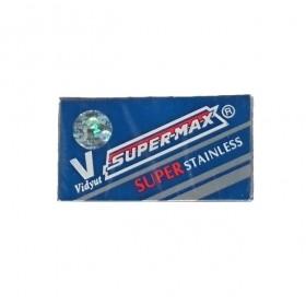 Super-Max Super Stainless Double Edge Razor Blades 10-p