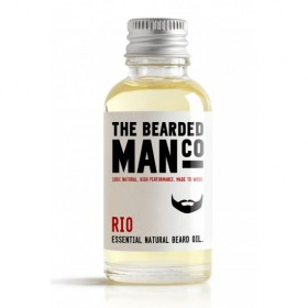 The Bearded Man Company Beard Oil Rio 30 ml
