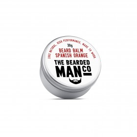 The Bearded Man Company Beard Balm Spanish Orange 30 g