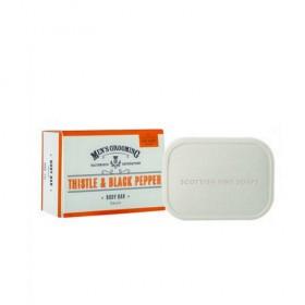 The Scottish Fine Soaps Thistle & Black Pepper Body Bar
