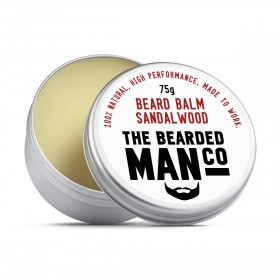 The Bearded Man Company Beard Balm Sandalwood 75 g