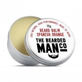The Bearded Man Company Beard Balm Spanish Orange 75 g
