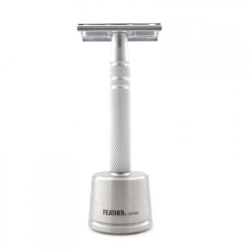 Feather Luxury Safety Razor with Stand