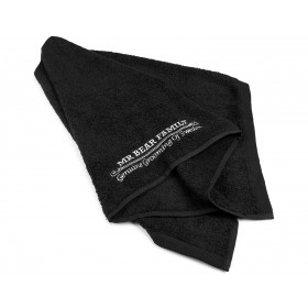 Mr Bear Family Barber Towel Black