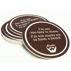 Beard Coaster 6-pack