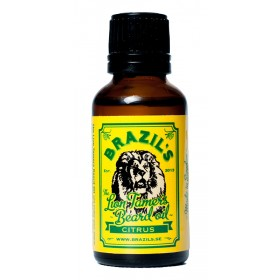 Brazils The Lion Tamers Beard Oil Citrus