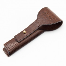 Captain Fawcett Handcrafted Leather Razor Case