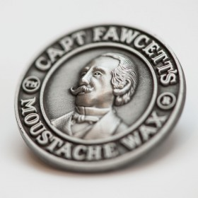 Captain Fawcett Nickel Badge