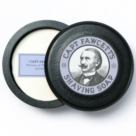 Captain Fawcett Shaving Soap with Bowl