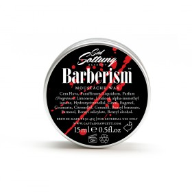 Captain Fawcett Moustache Wax Barberism