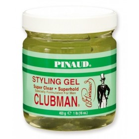 Clubman Pinaud Styling Gel Super Clear Superhold