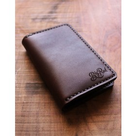 Big Red Beard Bi-Fold Wallet Walnut
