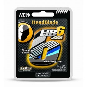 HeadBlade HB6 Blades 4-pack