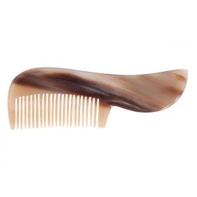 Hermod Moustache Comb White Horn