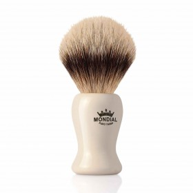 Mondial Baylis Shaving Brush Silvertip Badger