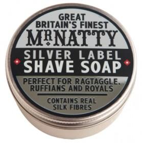Mr Natty Silver Label Shave Soap