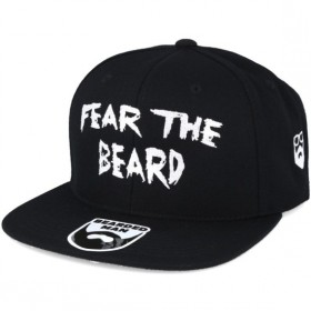 Bearded Man Apparel Fear The Beard Black Snapback