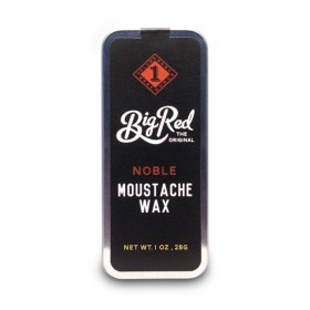 Big Red Moustache Wax - Noble