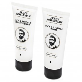 Percy Nobleman Face & Stubble Care Duo