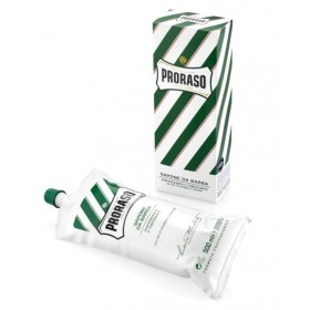 Proraso Shaving Cream Refreshing and Toning Eucalyptus - barber size